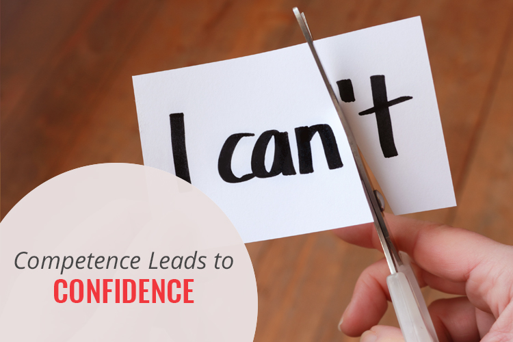 Competence Leads to Confidence