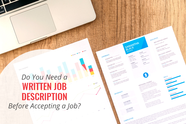 Do you need a written job description before accepting a job? Watch my video to learn 3 reasons why.