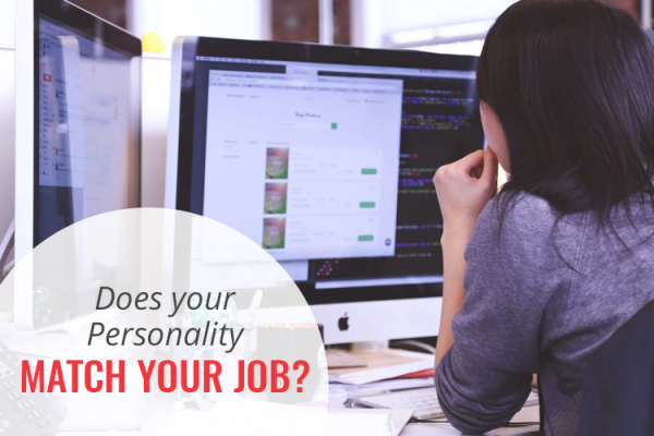 Personality match your job