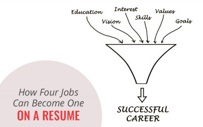How Four Jobs Can Become One on a Resume