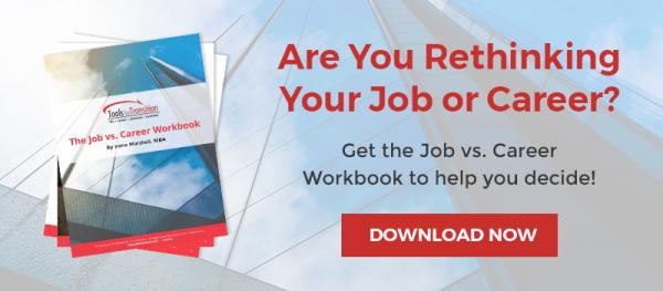 Job vs Career workbook