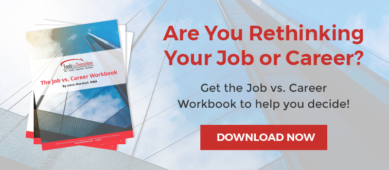 Job vs Career workbook