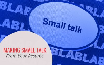 Making Small Talk from Your Resume