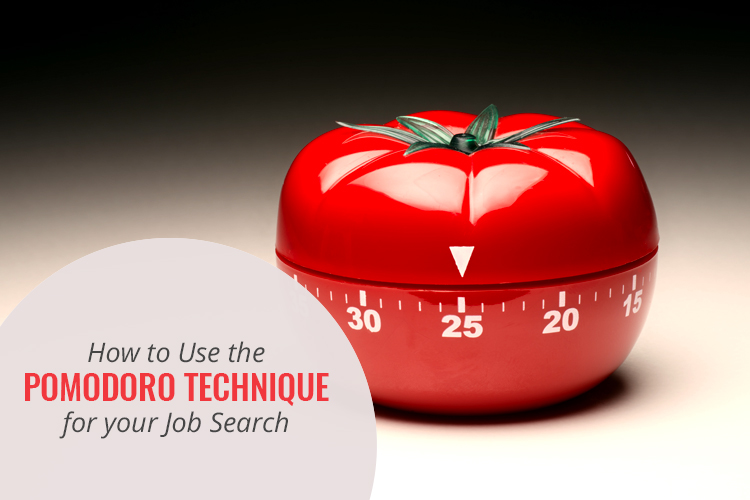How to Use the Pomodoro Technique for your Job Search