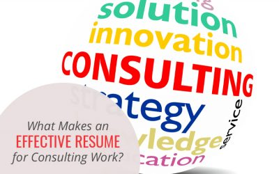 What Makes an Effective Resume for Consulting Work?