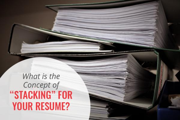 Resume Stacking